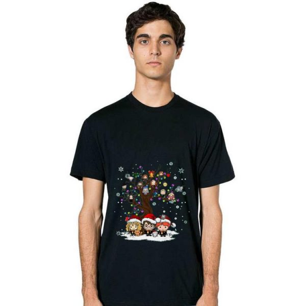 Great Harry Potter Characters Tree Christmas shirt