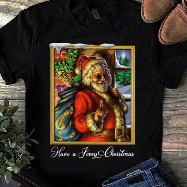 Great Have A Jerry Christmas Jerry Garcia shirt