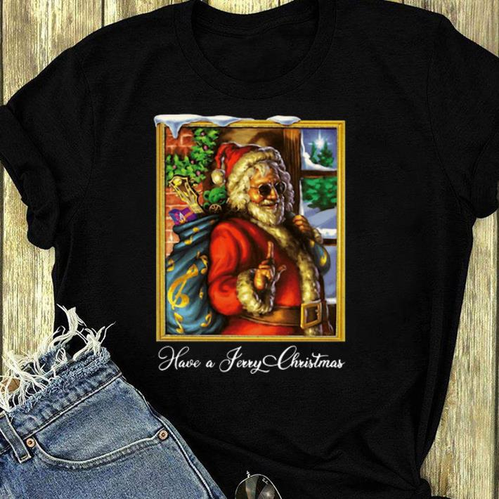 Great Have A Jerry Christmas Jerry Garcia shirt 4 - Great Have A Jerry Christmas Jerry Garcia shirt