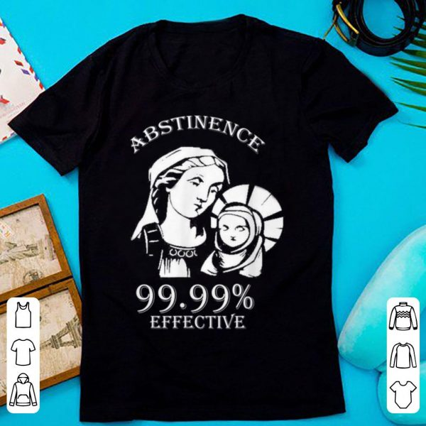 Hot Abstinence 99.99% Effective Jesus funny Christmas sweater