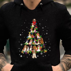 Hot Cavalier King Charles Spaniel - Christmas Tree sweater