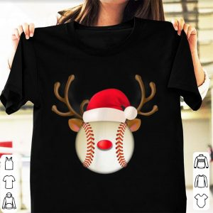 Hot Christmas Baseball, Reindeer Baseball shirt