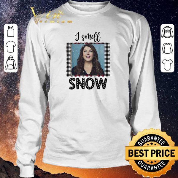 Hot Christmas Gilmore Girls I smell snow shirt