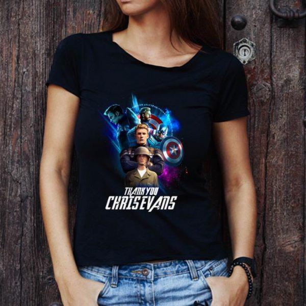 Hot Endgame Thank You Chris Evans Marvel Avengers shirt