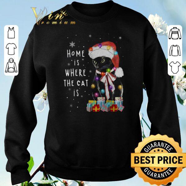 Hot Home Is Where The Cat Is Salem Saberhagen Christmas shirt sweater