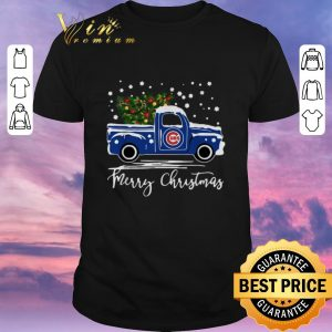 Hot Merry Christmas Chicago Cubs truck shirt