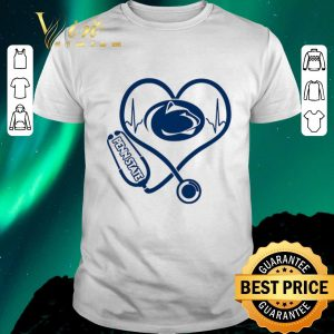 Hot Stethoscope Penn State Nittany Lions heart nurse shirt sweater
