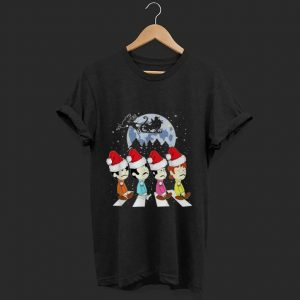 Hot The Beatles The Abbey Road Merry Christmas shirt
