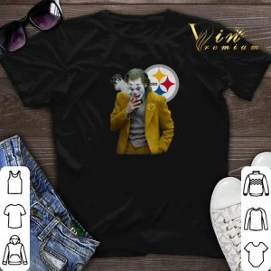 Joker Joaquin Phoenix Pittsburgh Steelers shirt sweater