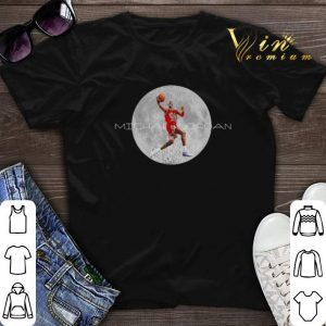 Michael Jordan and moon shirt sweater