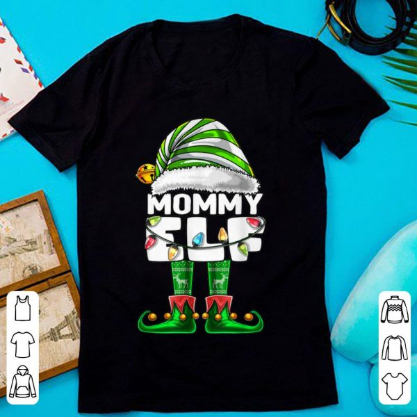Mommy Elf Matching Family Christmas Elf Costume Gift Women sweater