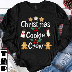 Nice Christmas Baking Team Apparel Cookie Crew Bakers Gift shirt