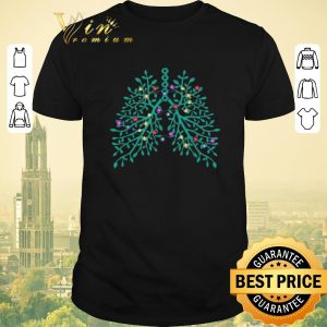 Nice Christmas Flowery Lungs shirt