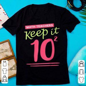 Nice Christmas Gift For Math Teacher Elf Calculator Logic Lecture shirt
