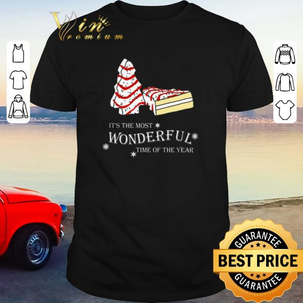 Nice Christmas cake It's the most wonderful time of the year shirt sweater