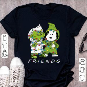 Nice Friends Grinch And Snoopy Christmas Light shirt
