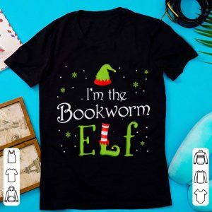 Nice I'm The Bookworm Elf Funny Group Matching Family Xmas Gift shirt