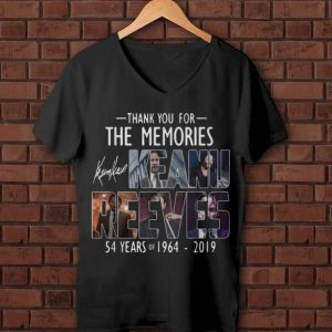 Nice Keanu Reeves Thank You For The Memories Signature shirt
