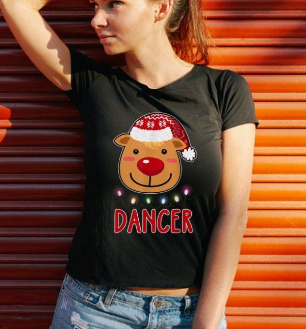 Nice Team Dancer Santa's Reindeer Dabbing Christmas Gift shirt