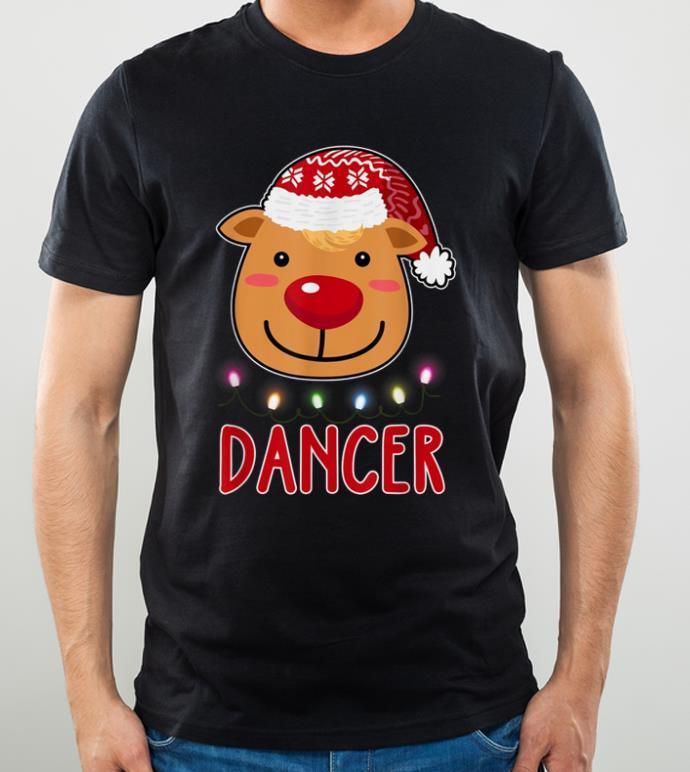 Nice Team Dancer Santa s Reindeer Dabbing Christmas Gift shirt 4 - Nice Team Dancer Santa's Reindeer Dabbing Christmas Gift shirt