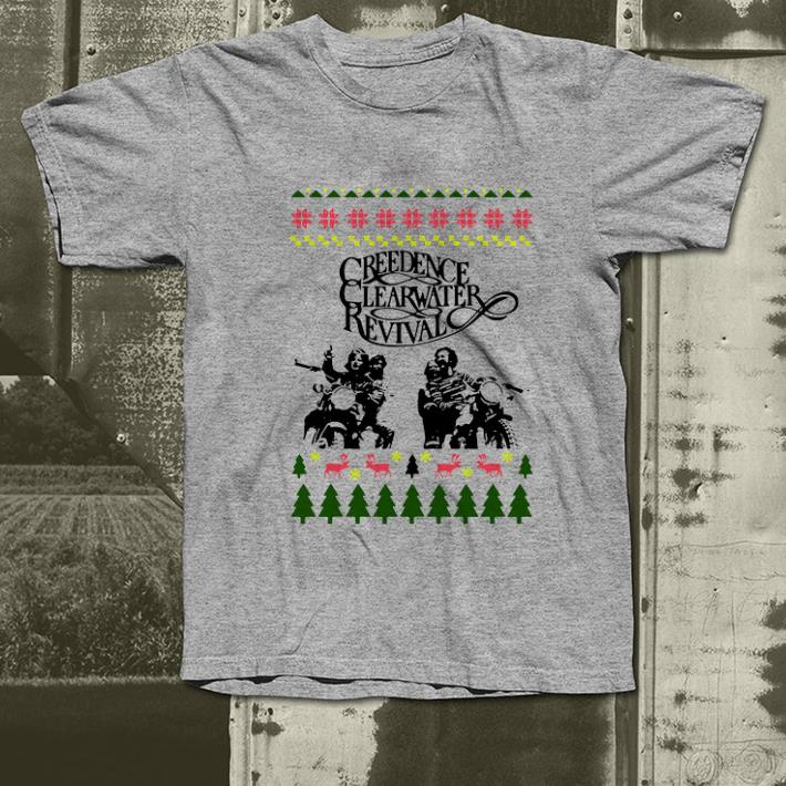 Nice Ugly Christmas Creedence Clearwater Revival shirt 4 - Nice Ugly Christmas Creedence Clearwater Revival shirt
