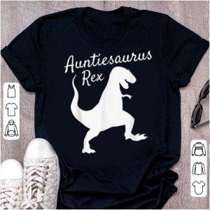 Official Auntie Saurus Rex Family Dinosaur Christmas Pajamas shirt