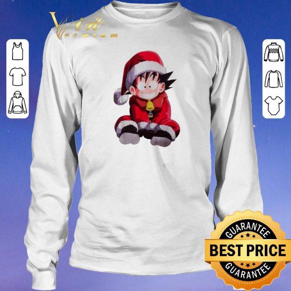 Official Christmas shirt Son Goku Santa sweater