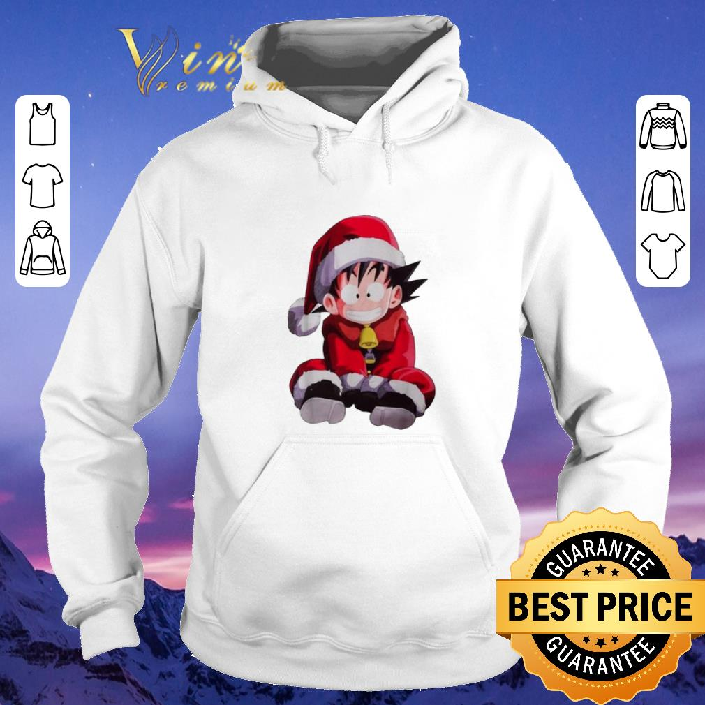 Official Christmas shirt Son Goku Santa sweater 4 - Official Christmas shirt Son Goku Santa sweater