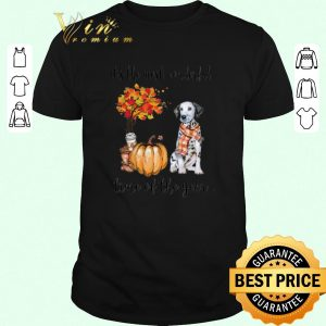 Official Dalmatian & Pumpkin it's the most wonderful time of the year shirt sweater