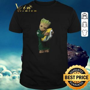 Official Green Bay Packers Baby Groot hug rugby ball shirt 2020