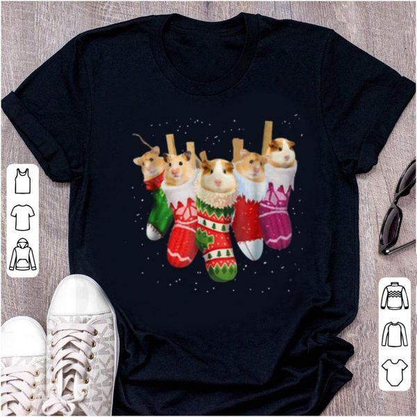 Official Hamster Christmas Socks Funny Xmas Vintage Cute Gift shirt