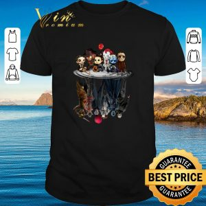 Official Horror movie characters water mirror reflection Halloween shirt 2020