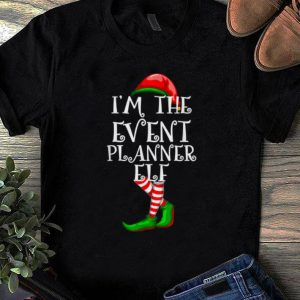 Official I'm the EVENT PLANNER ELF Matching Family Group Christmas shirt