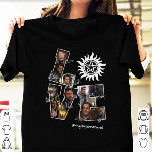 Official Love My Supernatural Signatures shirt