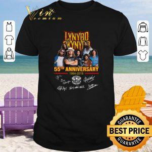Official Lynyrd Skynyrd 55th anniversary 1964-2019 signatures shirt 2020