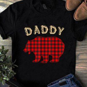 Official Mens DADDY BEAR Family Pajamas Matching Christmas Pajama PJs shirt