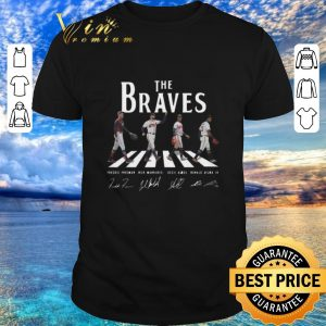Official Signatures Atlanta Braves The Braves Abbey Road shirt 2020