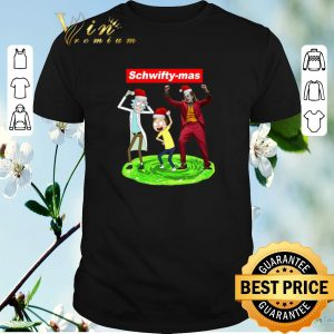 Official Supreme Schwifty-mas Rick and Morty Joker dancing Christmas shirt sweater