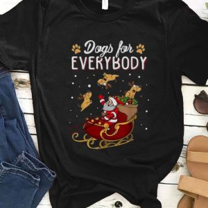 Original Christmas Dogs For Everybody Santa And Dog Reindeer shirt