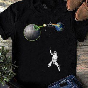 Original Death Star Kamehameha vs Pink Floyd Stormtrooper shirt