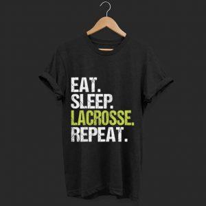 Original Eat Sleep Lacrosse Repeat Player Fan Christmas Gift shirt