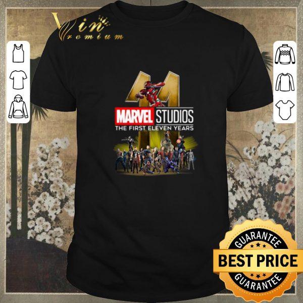 Original Marvel Studio The First Eleven Years shirt sweater