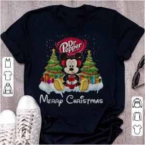 Original Mickey Mouse Dr Pepper Merry Christmas shirt