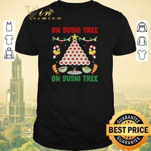 Original Oh Sushi tree oh Sushi tree Christmas shirt sweater