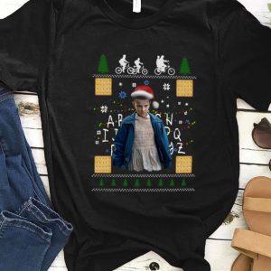 Original Stranger Things Eleven ugly christmas shirt