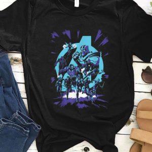 Original Super Heroes Vs Thanos Marvel Avengers Endgame shirt