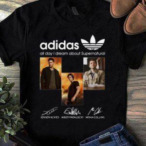 Premium All Day I Dream About Supernatural Adidas Signatures shirt