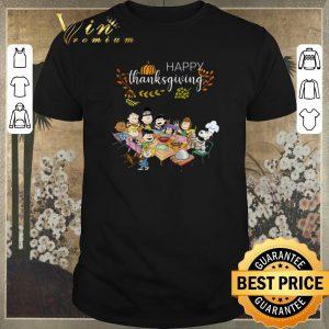 Premium Happy Thanksgiving Peanuts party shirt