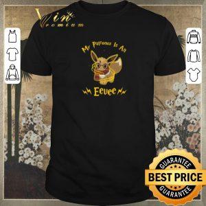Premium Harry Potter My patronus is an Eevee shirt