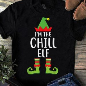 Premium I'm The Chill Elf Matching Family Group Christmas shirt